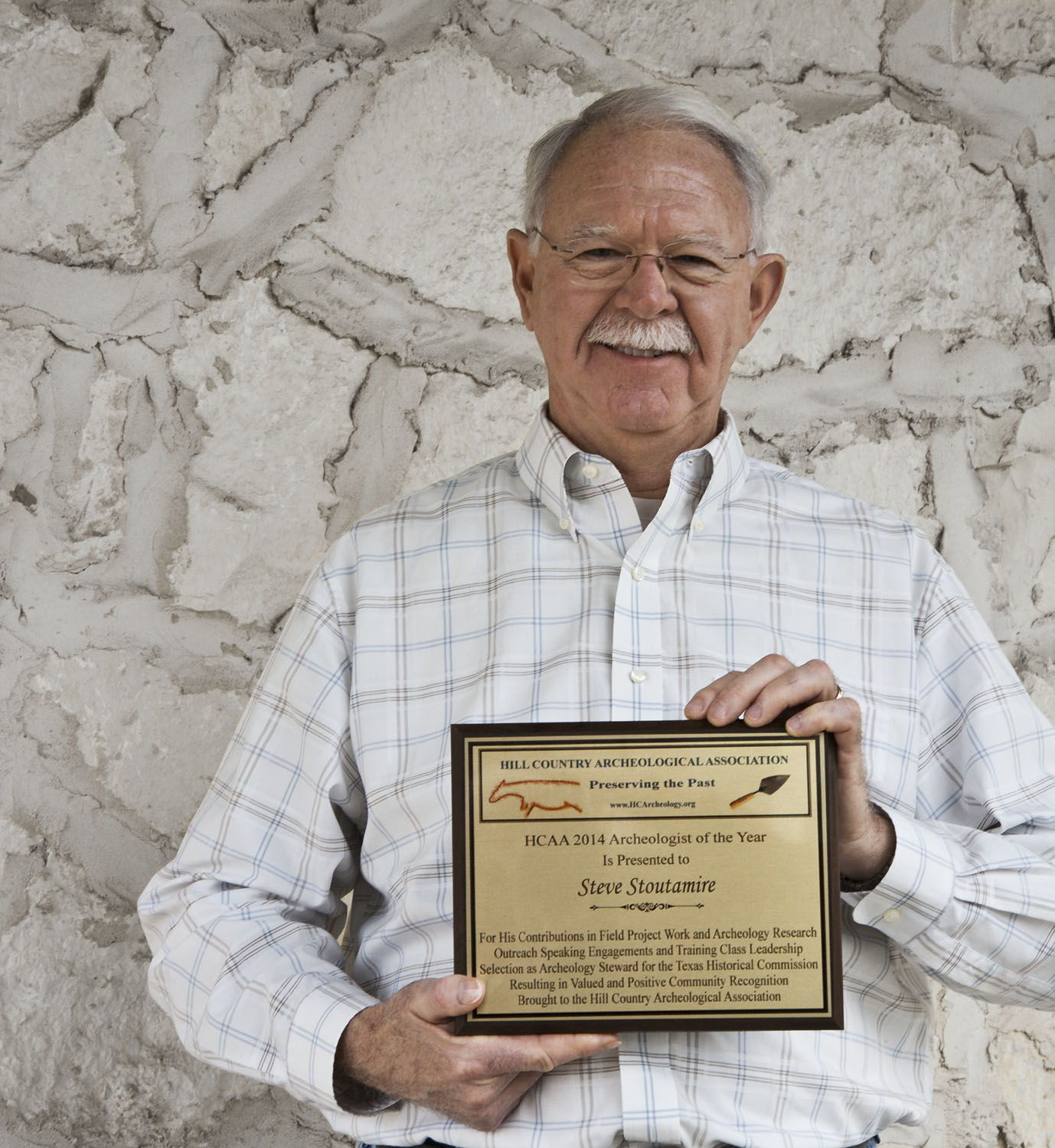 Steve Stoutamire, 2014 Archeologist of the Year