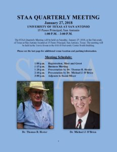 STAA Quarterly Meeting