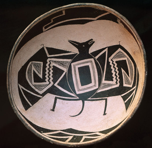 mimbres Pottery bat