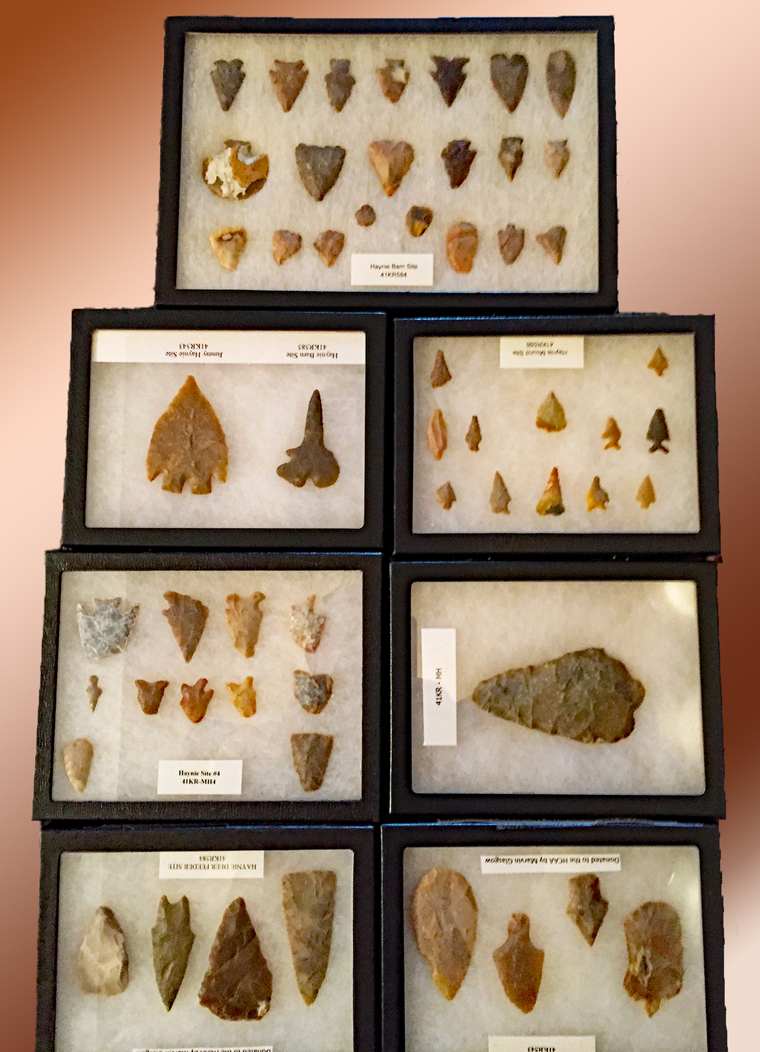 Lithic Collection Donated to HCAA